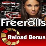 Reload Bonus in Time for Big Tournament Weekend at Intertops Poker