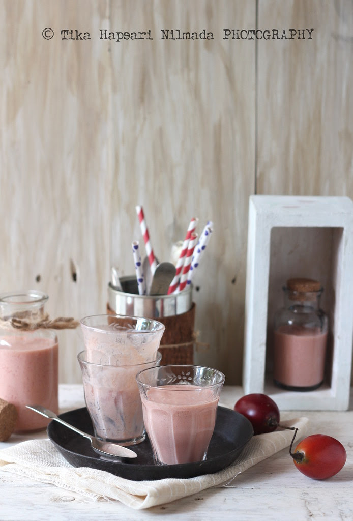 (Homemade) - Tamarillo smoothie