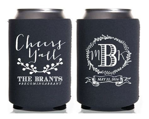 Best 25  Wedding koozies ideas on Pinterest   Wedding
