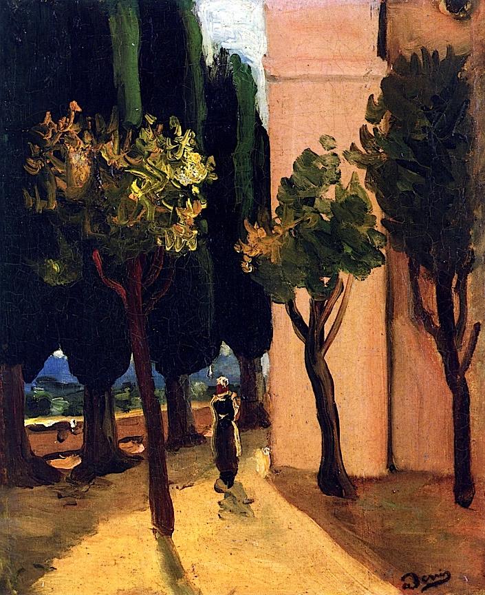 Street Scene Andre Derain - circa 1920