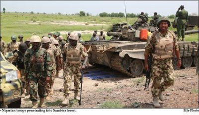 Boko Haram Troops in Sambisa terrorists
