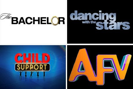 The Bachelor, Dancing with the Stars, Child Support and AFV
