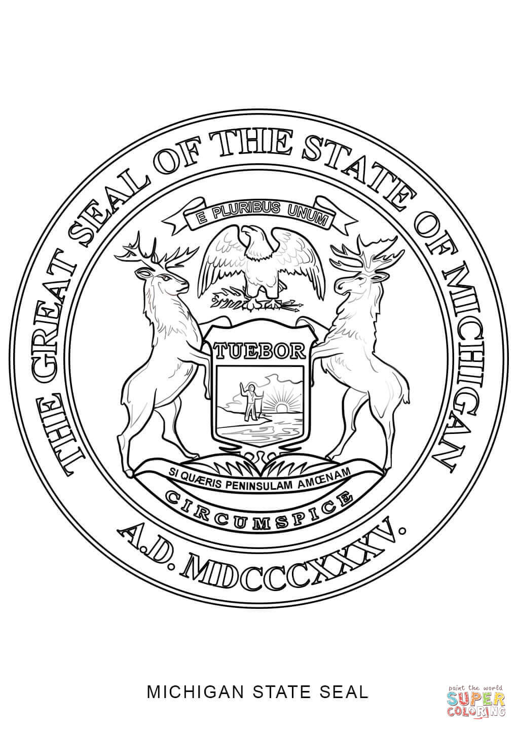 nc state seal coloring pages - photo#12