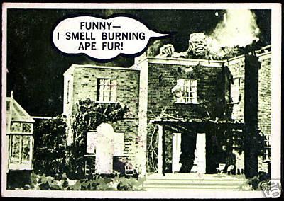 laffs unk funny i smell burning ape fur