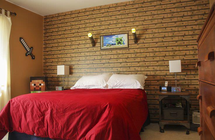28+ Minecraft Bedroom Designs, Decorating Ideas | Design ...