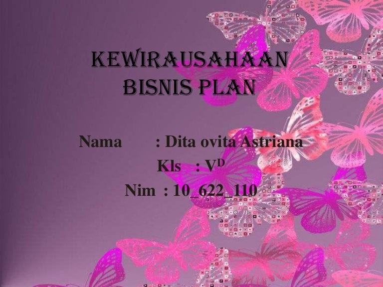 Contoh Bisnis Plan Roti Bakar - Rasmi J