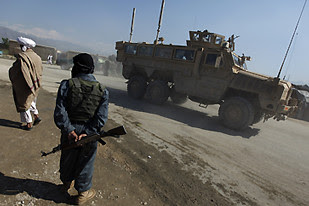 Bagram air base in Afghanistan was attacked by resistance forces on May 19, 2010. The U.S. imperialists and NATO have occupied the central Asian nation since 2001.Over 1,000 occupation troops have been killed. by Pan-African News Wire File Photos