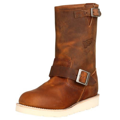 Red Wing Men's 2971 Engineer Boot,Copper Rough and Tough,7 D US