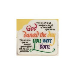 God Danced The Day You Were Born Plaque The Catholic Company