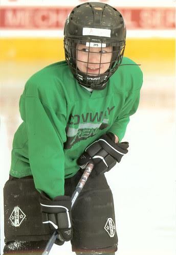 Adam hockey portrait