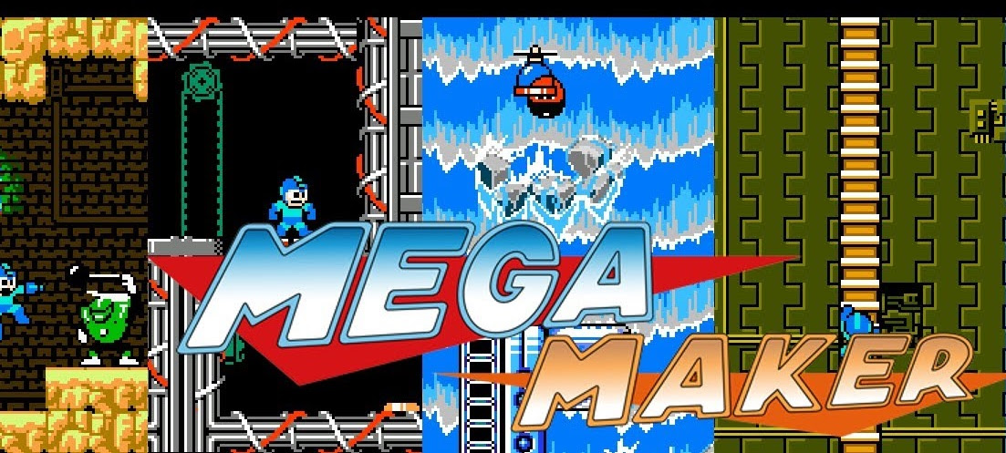 Mega Man fan game will let you create your own levels screenshot