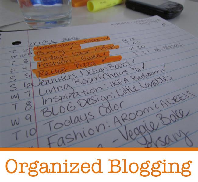 Organized Blogging1