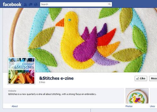 &Stitches zine now on Facebook