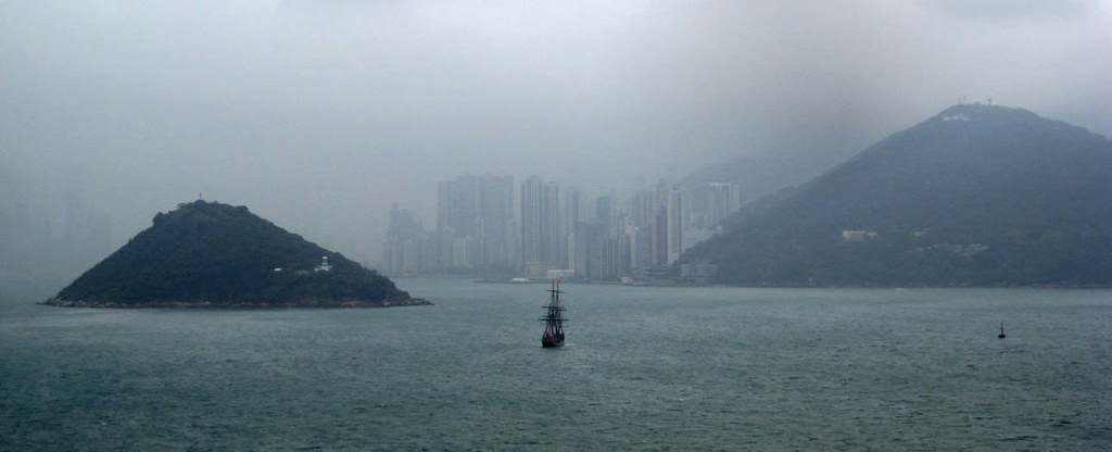 Passing Hong Kong