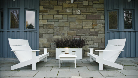Laid-Back Modern Patio Furniture Made From Hundreds of ...