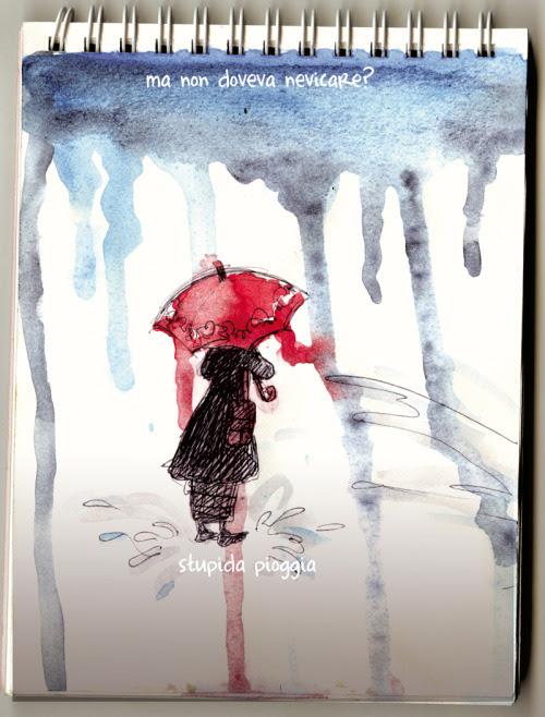 stupida pioggia stupid rain…