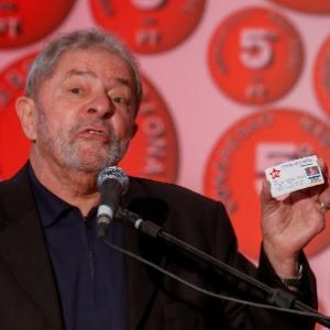 """Lula classificou a abertura de inquérito do MPF para investigá-lo como """"um procedimento absolutamente irregular, intempestivo e injustificado"""""""