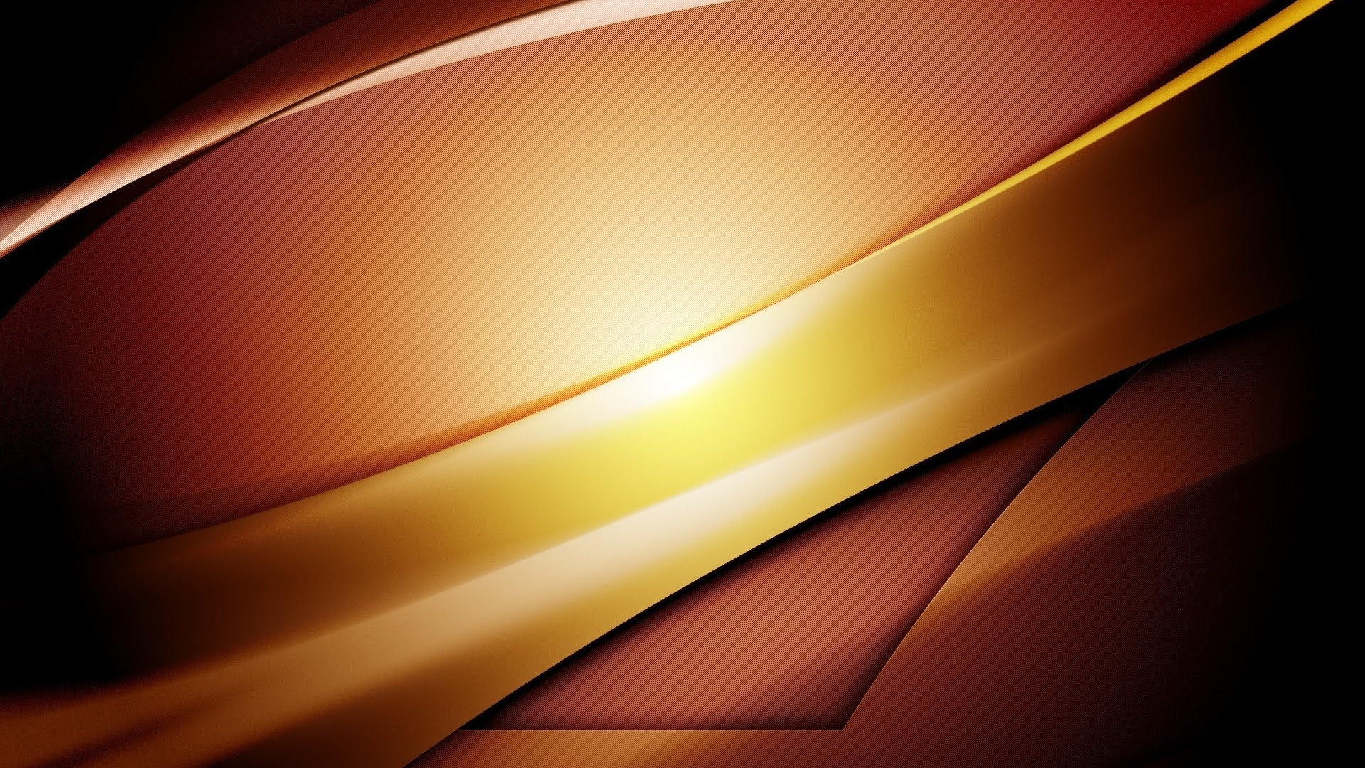 Download Wallpaper 1920x1080 lines, light, brown, form Full HD 1080p HD Background