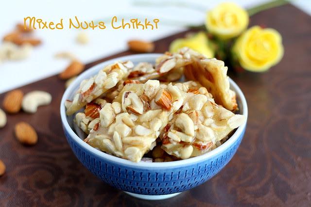 Mixed nuts chikki 1