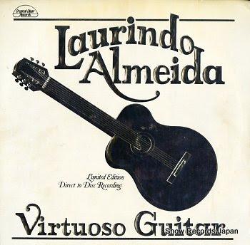 ALMEIDA, LAURINDO virtuoso guitar