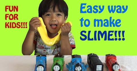 How To Make Slime ! Easy Science Experiments for kids