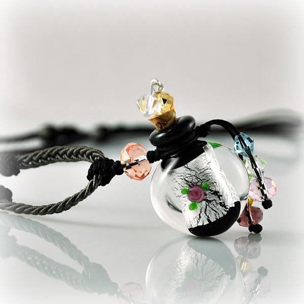 Halskette Arabische Nacht, silber