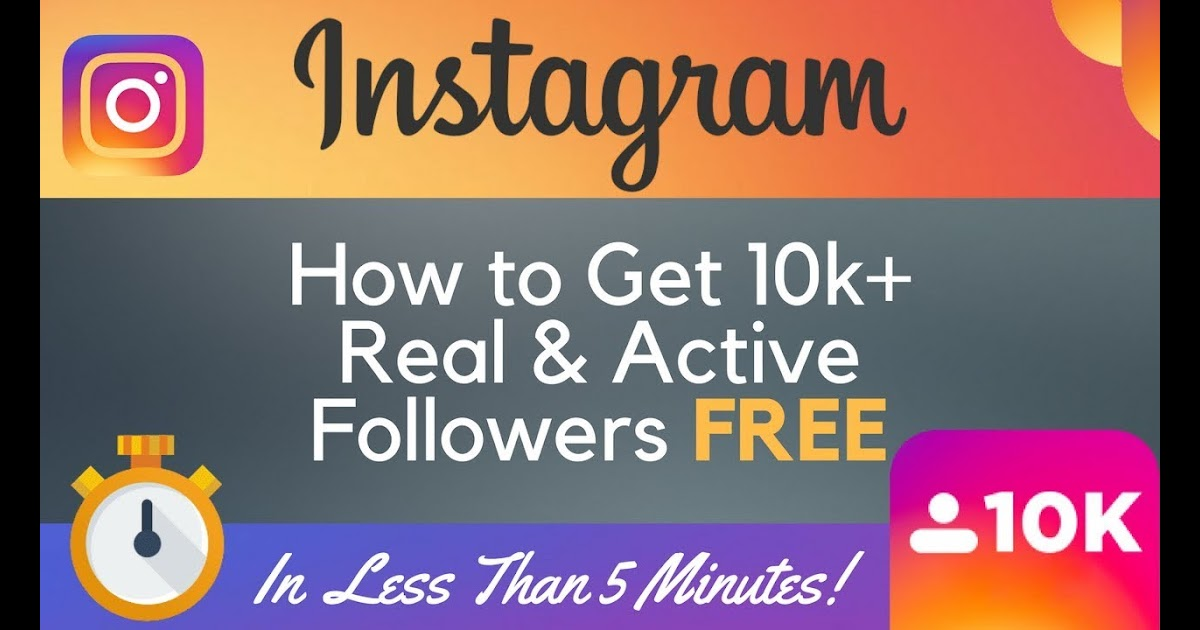 how i gain 1 260 instagram followers per week How To Get Free Instagram Followers 10k Less Than 5 Minutes