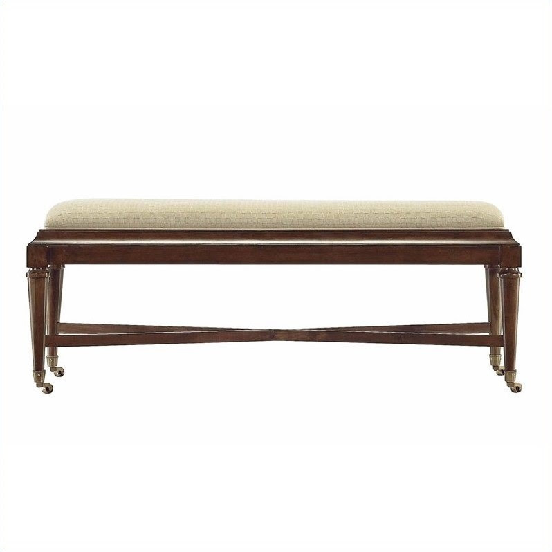 Stanley Furniture Avalon Heights Nash Bed End Bench in Chelsea - 193-
