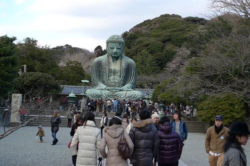 The famous Kamakura Great Buddha