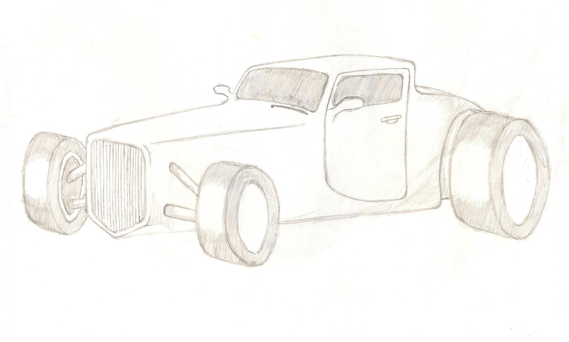 Imagenes De Autos Para Dibujar A Lapiz Faciles Imagendeflores Website