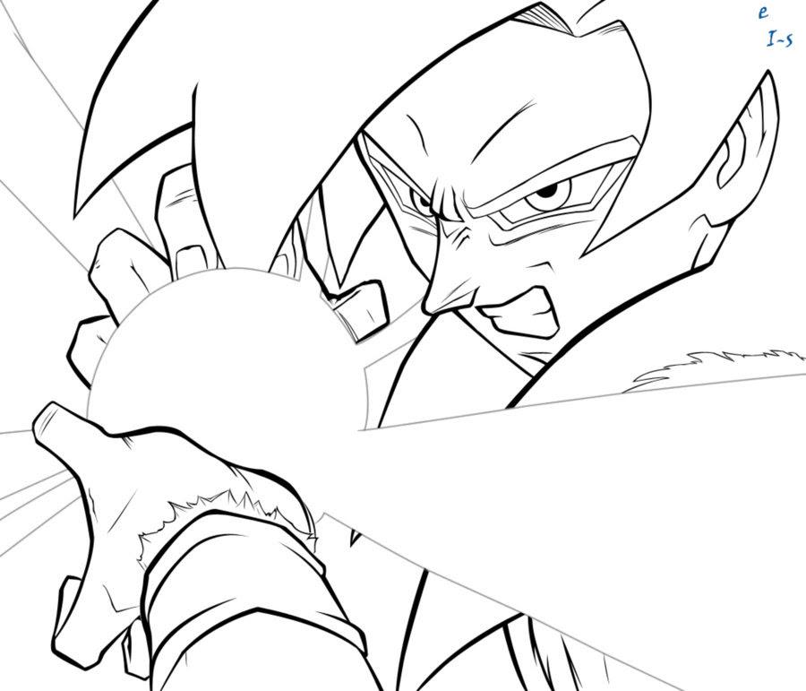 Goku Super Saiyan 4 Para Colorear Az Dibujos Para Colorear