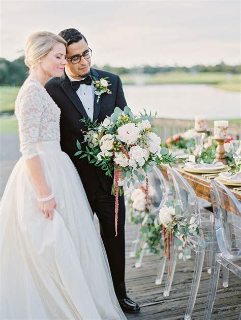 Golden Hour in Charleston Styled Shoot   Intimate Weddings