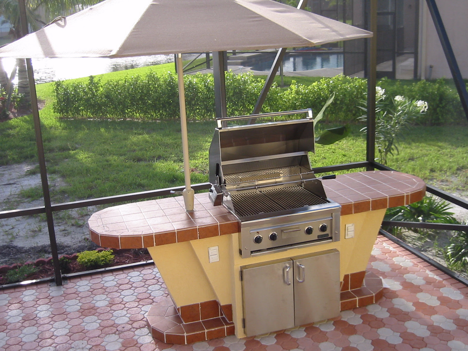House Plans with Outdoor Kitchen