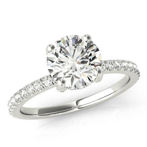 Forever One Moissanite Engagement Rings For Women