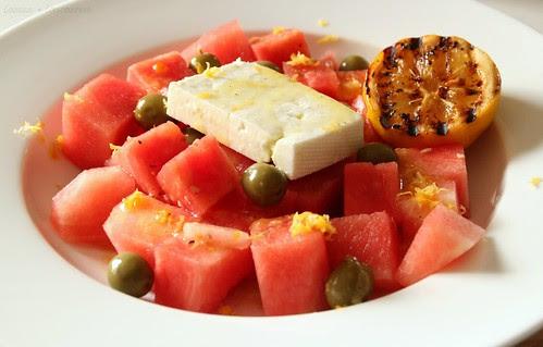 Watermelon & Feta Salad 1