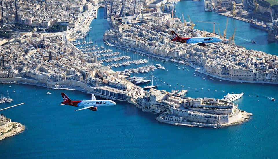 © Air Malta in Valletta