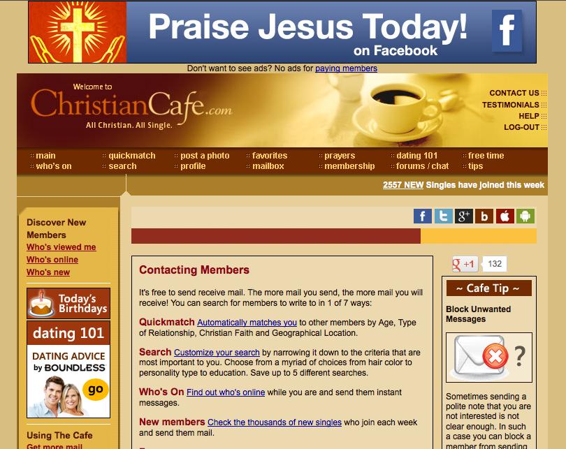 Kostenlose dating sites christian