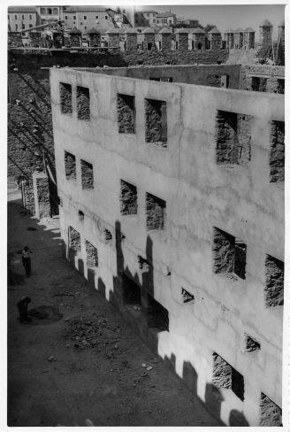 Restauración del Castillo de San Servando © Fondo Rodríguez. Archivo Histórico Provincial. JCCM. Signatura CMD2-097-1