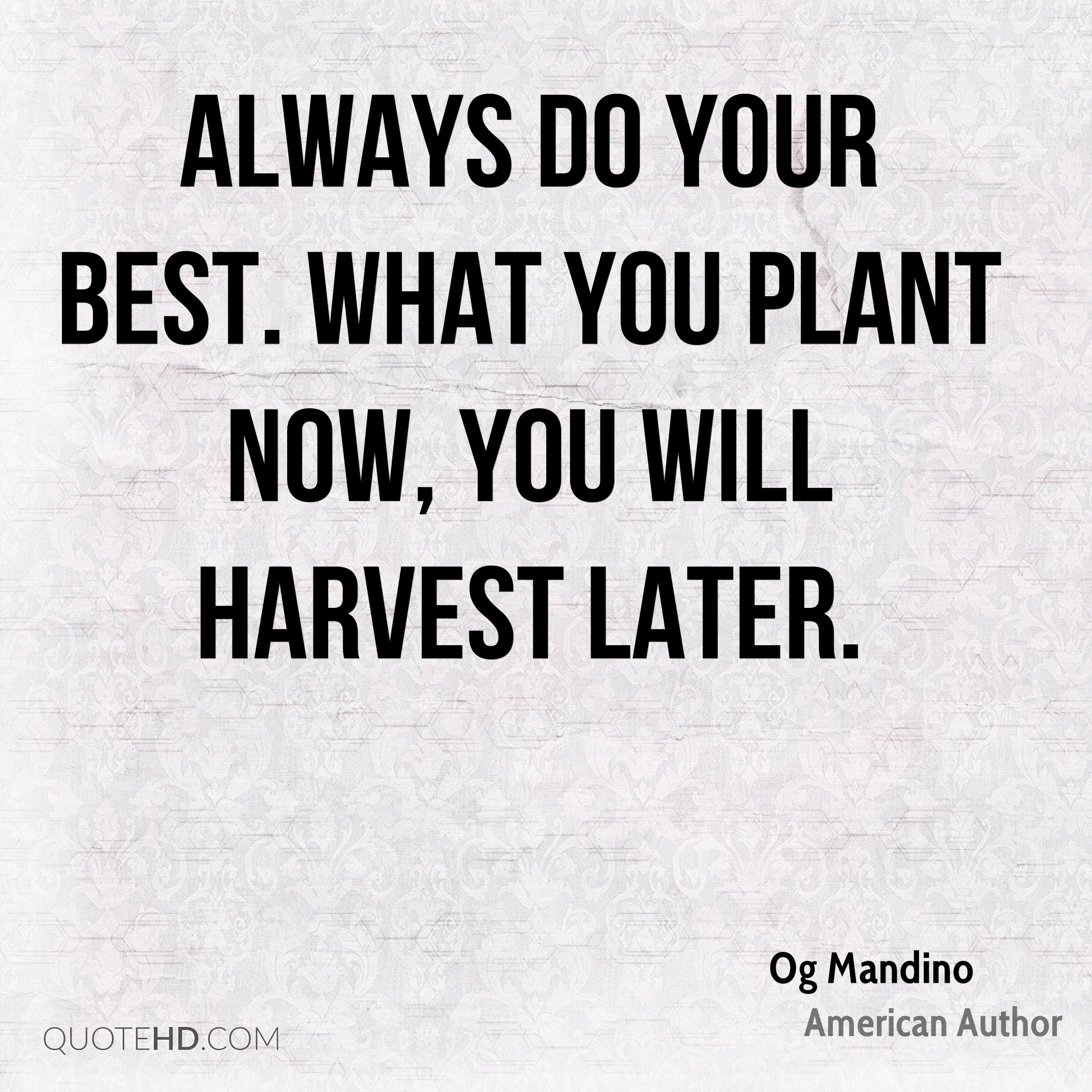 Og Mandino Motivational Quotes Quotehd