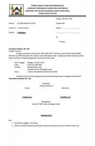contoh surat undangan dalam berbagai jenis