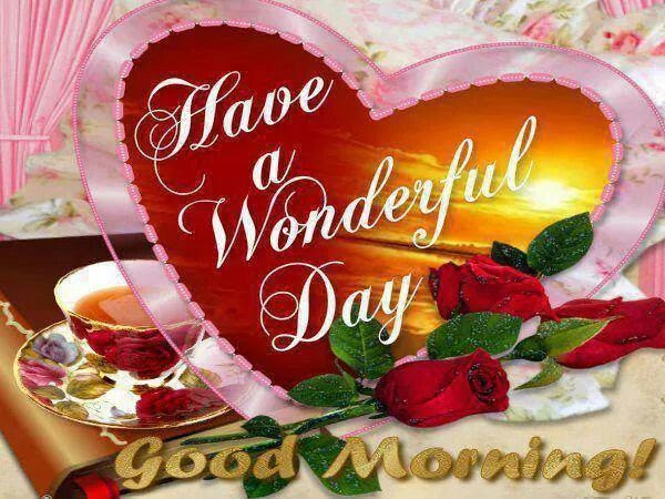 Have A Wonderful Day Good Morning Pictures Photos And Images For