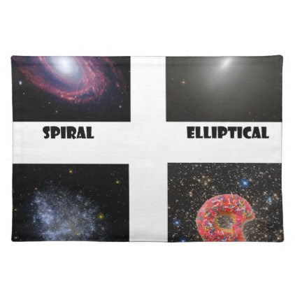 types of Galaxies3 Placemat