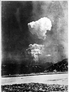 bomba atomica de la Hiroshima