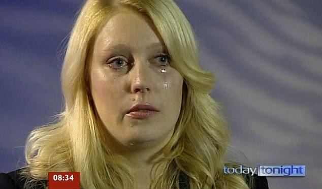 Shock: 2Day FM presentador Mel Greig, de 30 años, dijo por primera vez la madrugada de hoy de su horror al enterarse de la trágica noticia de la muerte de la enfermera después de una llamada falsa a King Edward VII Hospital, en Marylebone, en el centro de Londres