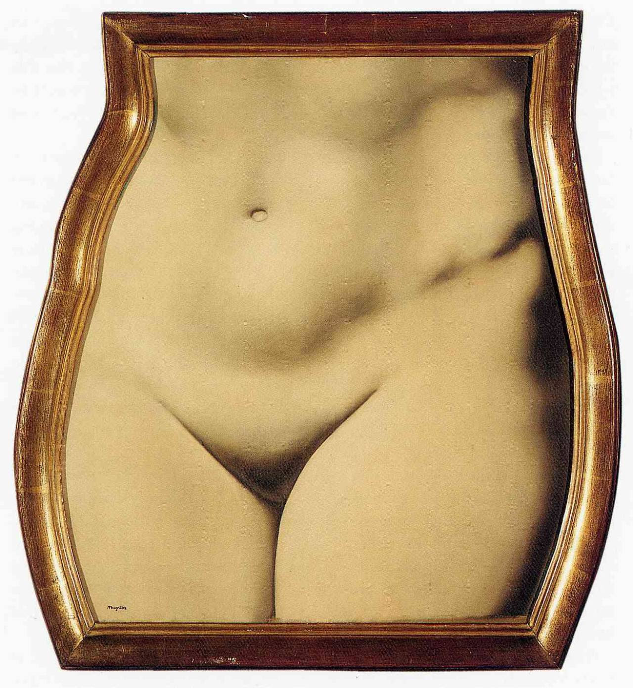 Representation,1937 Rene Magritte