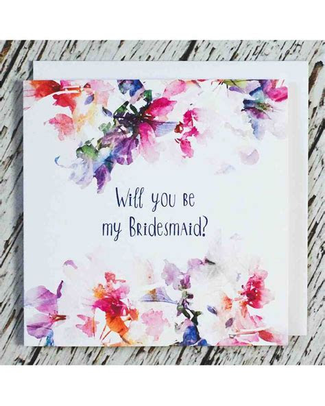 "12 ""Will You Be My Bridesmaid?"" Cards We Love   Martha"