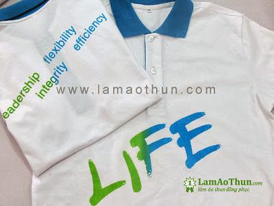 Áo thun đồng phục Life