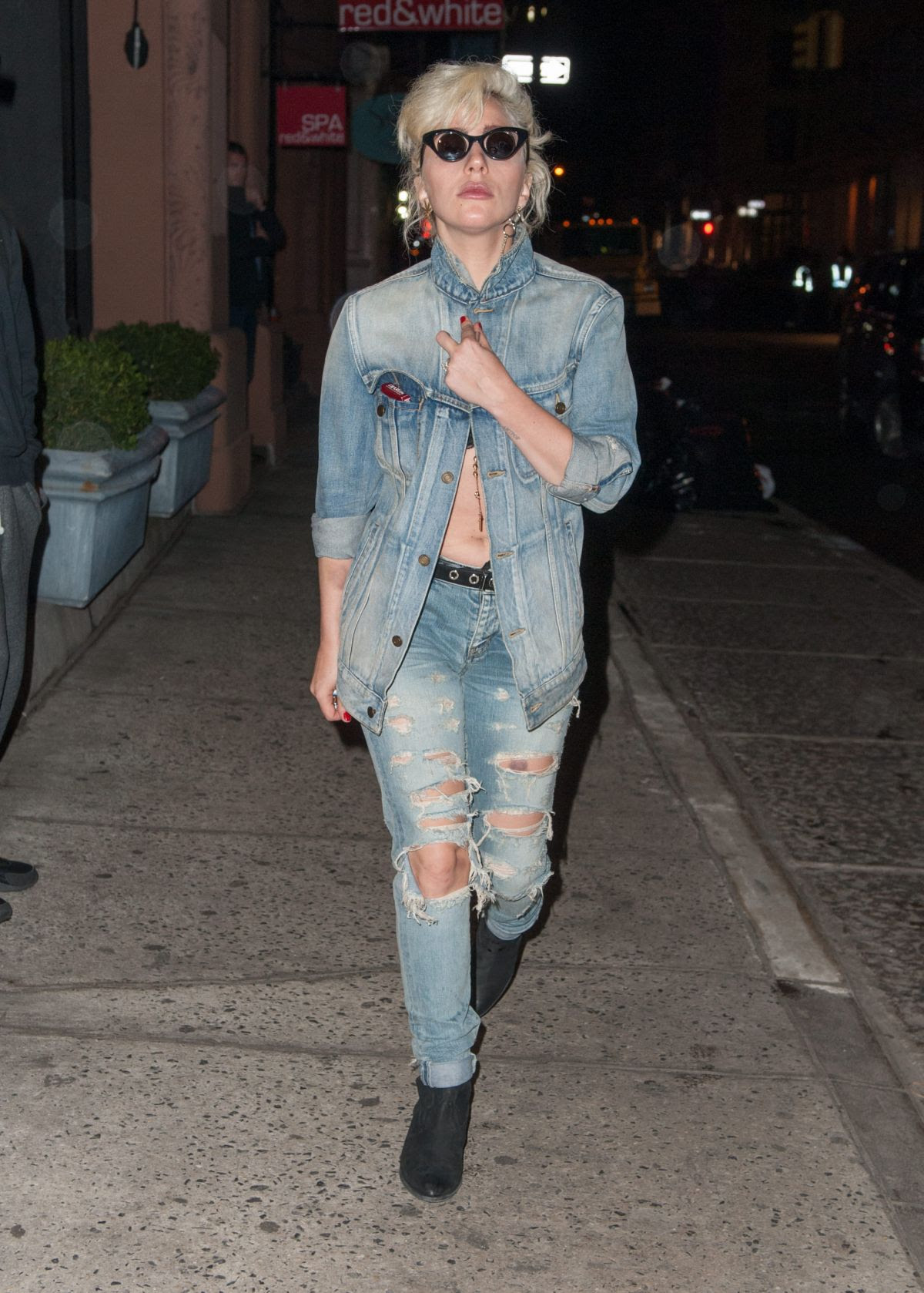 LADY GAGA Night Out in New York 05/03/2016