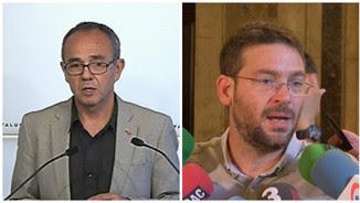 Joan Coscubiela i Albano Dante Fachin