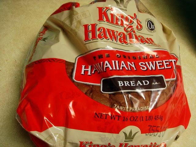 King's Hawaiian Raspberry Bread Pudding Bowl